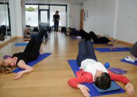 Pilates Beginners Class Belfast