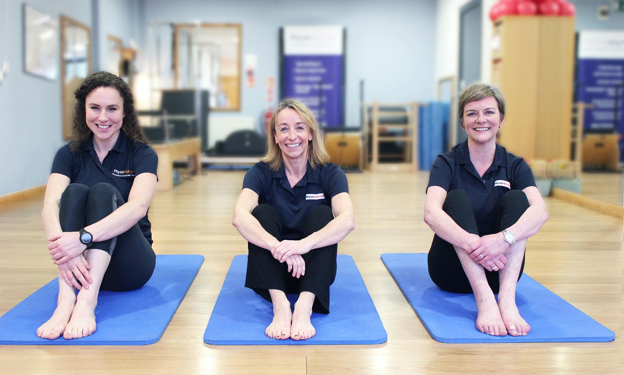 PhysioWorks Belfast Pilates Team