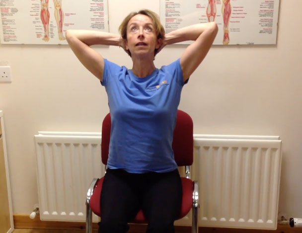 Office Chair Back Exercises
